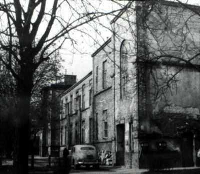 Pierwsza siedziba Instytutu Reumatologii, Warszawa,  ul. Nowogrodzka 59, III pawilon (lata 50-te)